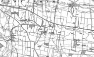 Old Map of Shilvinghampton, 1898