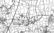 Old Map of Shimpling, 1883