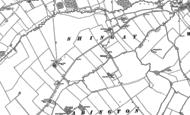 Old Map of Shingay, 1886 - 1901