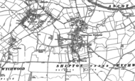 Old Map of Shipton under Wychwood, 1898 - 1919