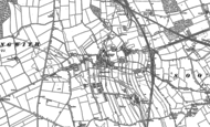 Old Map of Shirebrook, 1884 - 1897