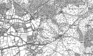 Old Map of Shobley, 1895 - 1908
