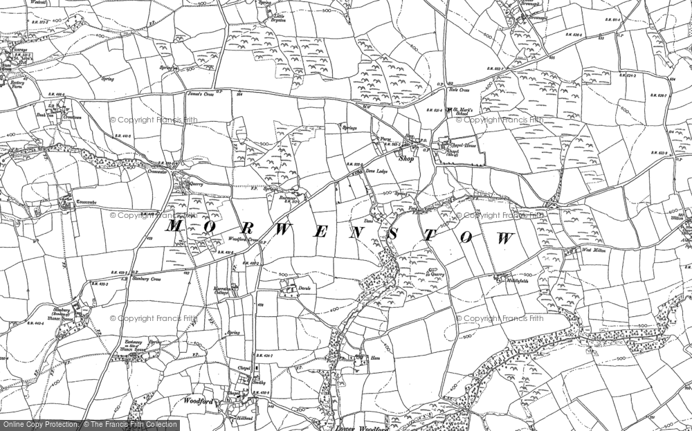 Old Maps Of Shop Francis Frith - Old map shop