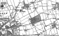 Old Map of Shopwyke, 1874 - 1896