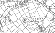 Old Map of Shortstown, 1882