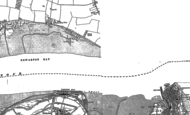 Old Map of Shotley Gate, 1881 - 1902