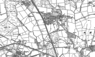 Old Map of Shotton Colliery, 1896 - 1897