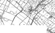 Old Map of Shotwick, 1897 - 1909