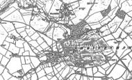 Old Map of Shrivenham, 1910