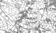 Old Map of Shurdington, 1883 - 1884