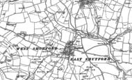 Old Map of Shutford, 1899 - 1920