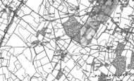 Old Map of Shuttlesfield, 1884