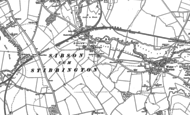 Map of Sibson, 1899 - 1900