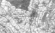 Old Map of Sidbury, 1888