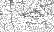 Old Map of Sigingstone, 1897