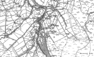 Old Map of Sinderhope, 1895