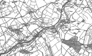 Old Map of Single Hill, 1884 - 1902