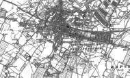 Old Map of Sittingbourne, 1896