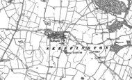 Old Map of Skeffington, 1884 - 1902