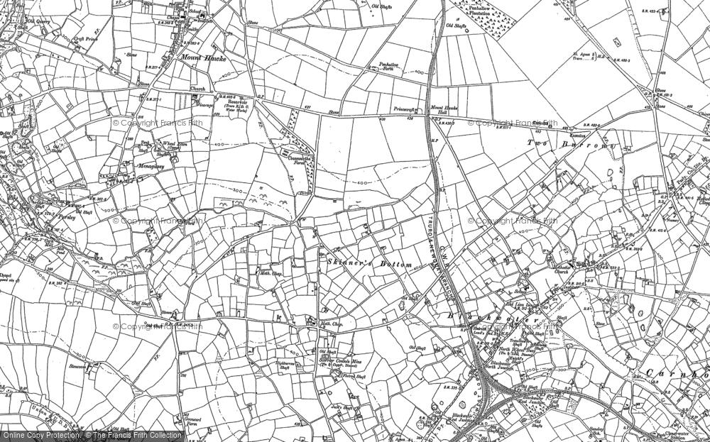 Map of Skinner's Bottom, 1879 - 1906