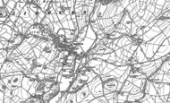Old Map of Slaidburn, 1907