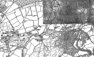 Old Map of Sleaford, 1909