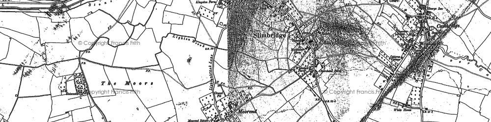 Old map of Wildfowl Trust, The in 1879