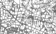 Old Map of Slinfold, 1896