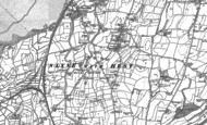 Old Map of Slyne, 1889 - 1911