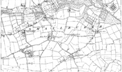 Old Map of Smallburgh, 1884 - 1885