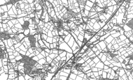 Old Map of Smallridge, 1903