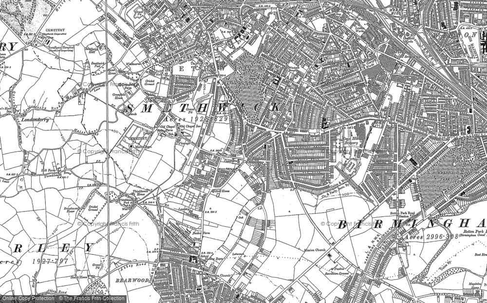 Old Maps Of Londonderry Francis Frith - Old os maps