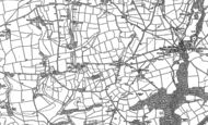Old Map of Smithaleigh, 1886 - 1905