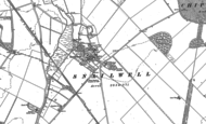 Old Map of Snailwell, 1884 - 1901