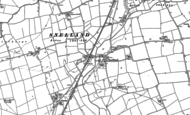Old Map of Snelland, 1885 - 1886