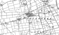 Old Map of Snitterby, 1881 - 1886