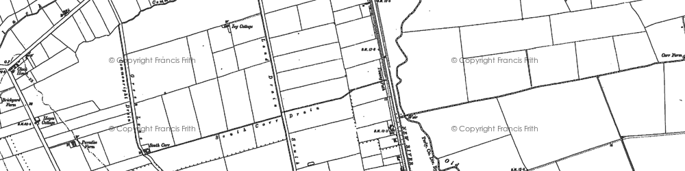 Old map of Atterby Carr in 1881