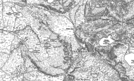 Old Map of Snowdon, 1888