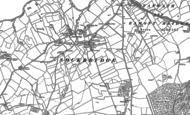 Old Map of Sockbridge, 1913