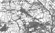 Old Map of Somercotes, 1879 - 1899