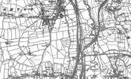 Old Map of Sothall, 1897
