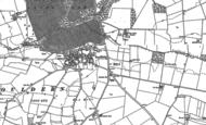 Old Map of Souldern, 1898