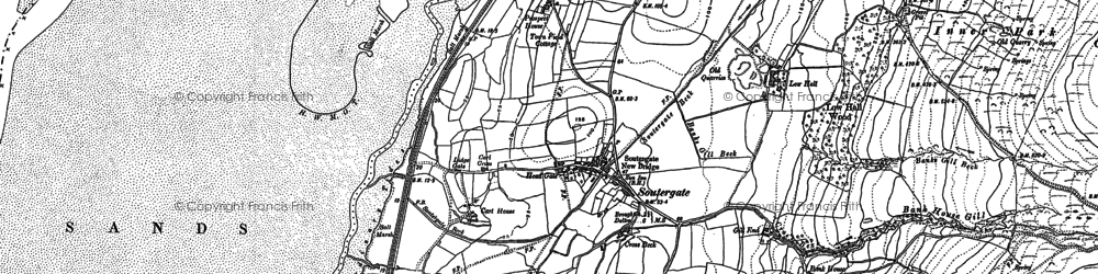 Old map of Bailiff Ground in 1911