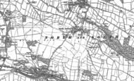 Old Map of South Anston, 1890 - 1929