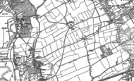 Old Map of South Bockhampton, 1896 - 1907