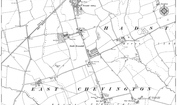 Old Map of South Broomhill, 1896