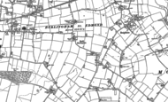 Old Map of South Burlingham, 1881 - 1884