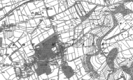 Old Map of South Cave, 1888 - 1889