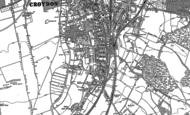 Old Map of South Croydon, 1894 - 1911