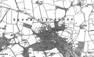 Old Map of South Elkington, 1916